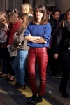 Red leather trousers 2