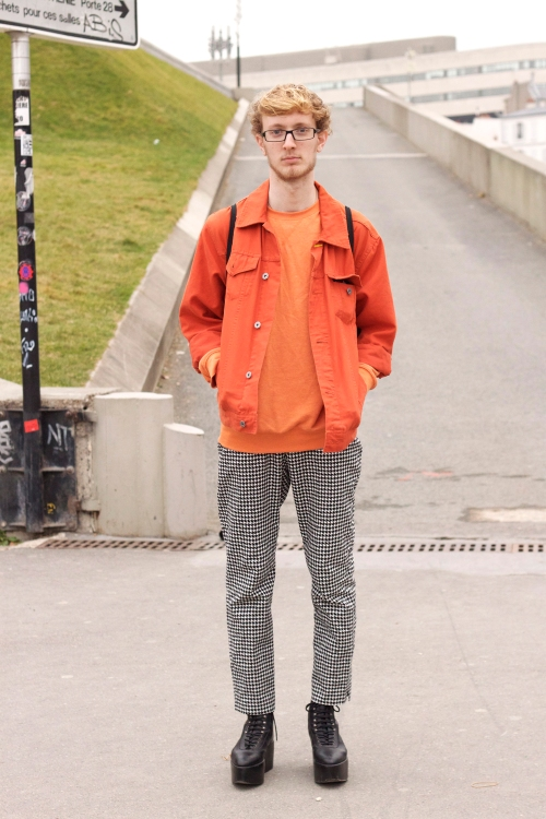 Orange and platforms