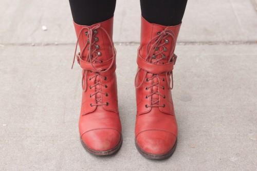 Hannah's boots